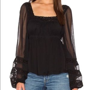 Free People Moon Chaser Blouse